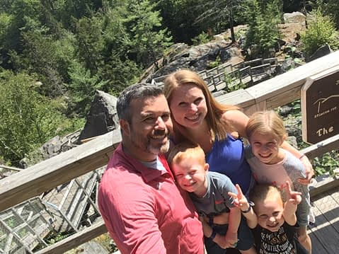 IDS Sr. Account Manager Katie Knapp and her family